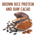 That Protein Blissful Brown Rice and Raw Cacao Vegan Plant Based Super Protein