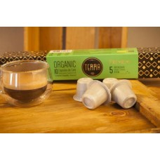 Terra Organic Coffee Pods - Strength 5