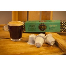 Terra Organic Coffee Pods - Strength 9